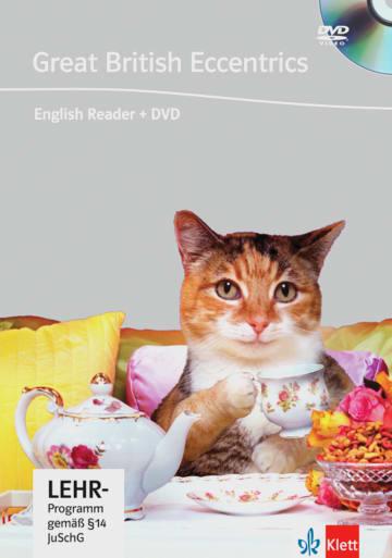 Cover Great British Eccentrics 978-3-12-580007-6 Rod Smith Englisch