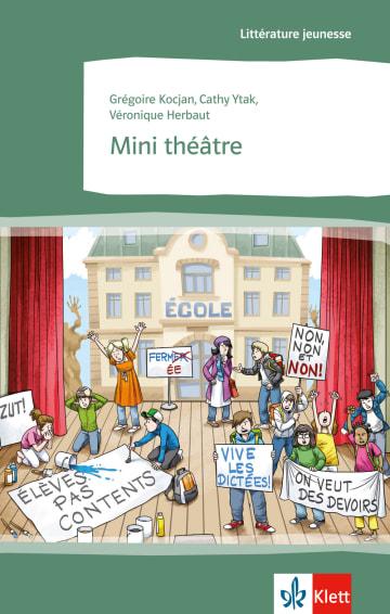 Cover Mini théâtre 978-3-12-591454-4 Véronique Herbaut, Grégoire Kocjan, Cathy Ytak Französisch