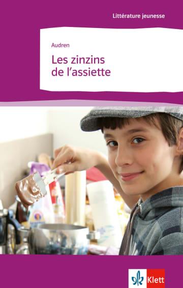 Cover Les zinzins de l'assiette 978-3-12-591456-8 Audren Französisch