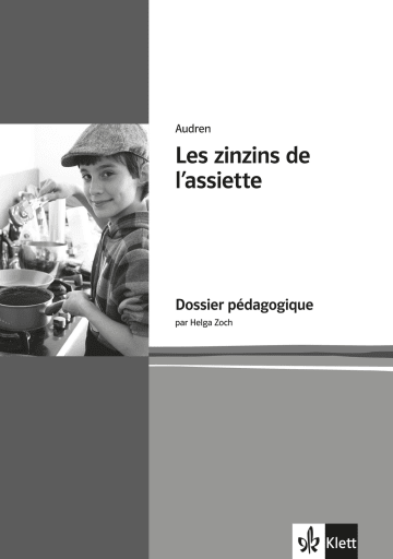 Cover Les zinzins de l'assiette 978-3-12-591457-5 Audren, Helga Zoch Französisch