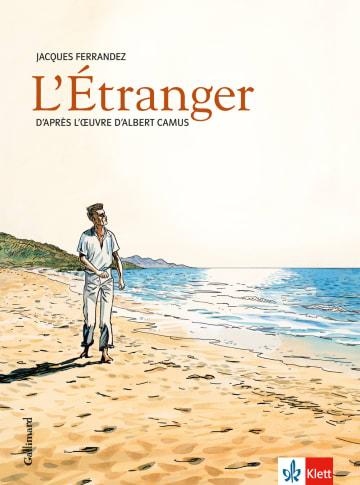 Cover L'Étranger 978-3-12-591558-9 Albert Camus, Jacques Ferrandez Französisch