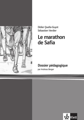Cover Le marathon de Safia 978-3-12-591572-5 Didier Quella-Guyot, Andreas Berger Französisch