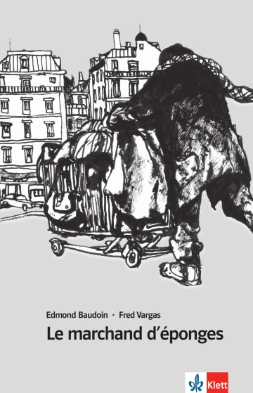 Cover Le marchand d'éponges 978-3-12-591574-9 Edmond Baudoin, Fred Vargas Französisch