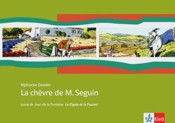 Cover La chèvre de M. Seguin 978-3-12-591589-3 Alphonse Daudet Französisch