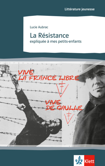 Cover La Résistance expliquée à mes petits-enfants 978-3-12-592127-6 Lucie Aubrac Französisch
