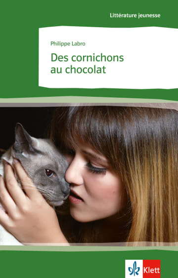 Cover Des cornichons au chocolat 978-3-12-592136-8 Philippe Labro Französisch