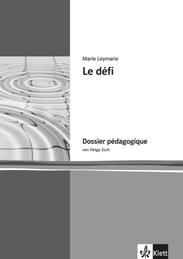 Cover Le défi 978-3-12-592137-5 Marie Leymarie, Helga Zoch Französisch