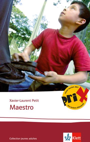 Cover Maestro 978-3-12-592254-9 Xavier-Laurent Petit Französisch