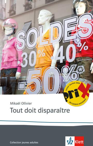 Cover Tout doit disparaître 978-3-12-592265-5 Mikaël Ollivier Französisch