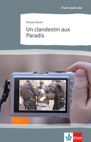 Cover Un clandestin aux Paradis 978-3-12-592267-9 Vincent Karle Französisch