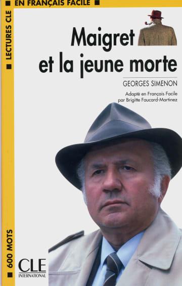 Cover Maigret et la jeune morte 978-3-12-593125-1 Georges Simenon Französisch