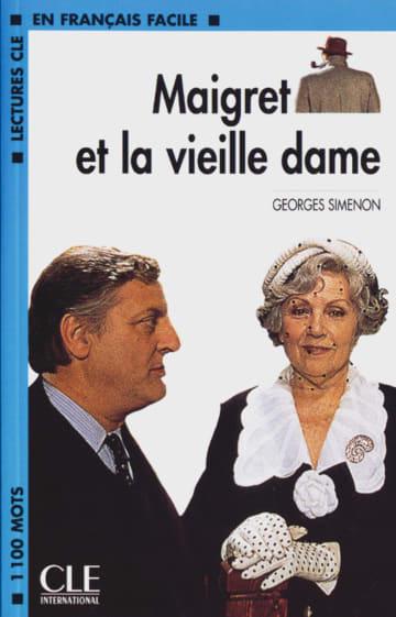 Cover Maigret et la vieille dame 978-3-12-593280-7 Georges Simenon Französisch