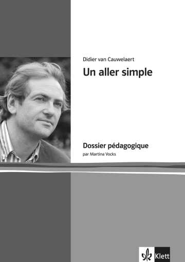 Cover Un aller simple 978-3-12-597258-2 Didier van Cauwelaert, Martina Vocks Französisch