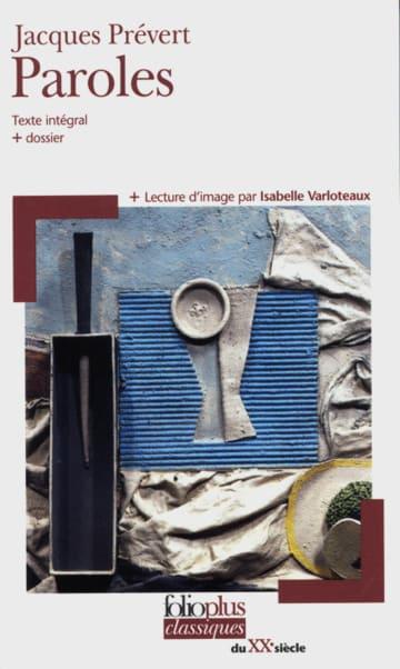 Cover Paroles 978-3-12-597264-3 Jacques Prévert Französisch