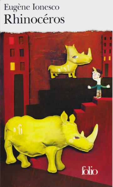 Cover Rhinocéros 978-3-12-597265-0 Eugène Ionesco Französisch