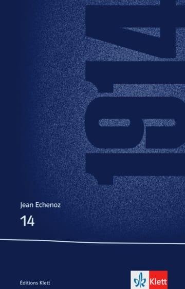Cover 14 978-3-12-597370-1 Jean Echenoz Französisch
