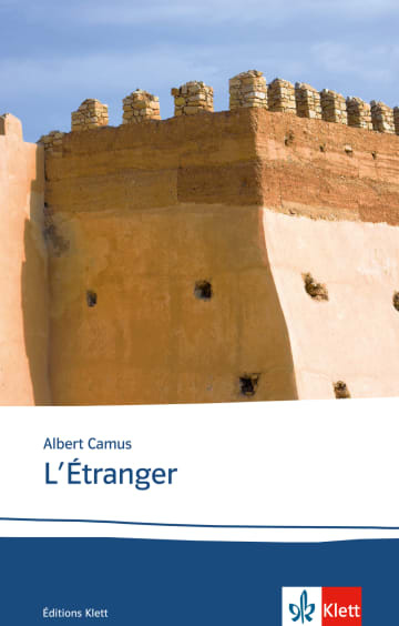 Cover L'étranger 978-3-12-597460-9 Albert Camus Französisch