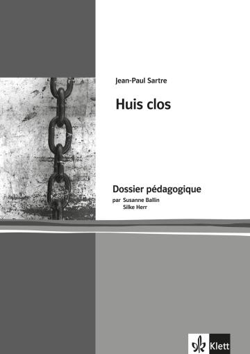 Cover Huis clos 978-3-12-598405-9 Susanne Ballin, Silke Herr, Jean-Paul Sartre Französisch
