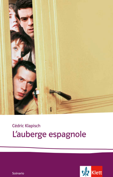 Cover L'auberge espagnole 978-3-12-598434-9 Cédric Klapisch Französisch