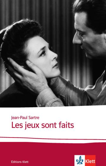 Cover Les jeux sont faits 978-3-12-598481-3 Jean-Paul Sartre Französisch