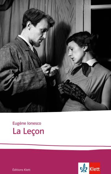 Cover La Leçon 978-3-12-598701-2 Eugène Ionesco Französisch