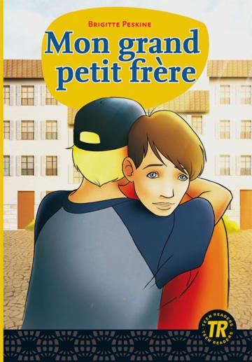 Cover Mon grand petit frère 978-3-12-599184-2 Brigitte Peskine Französisch