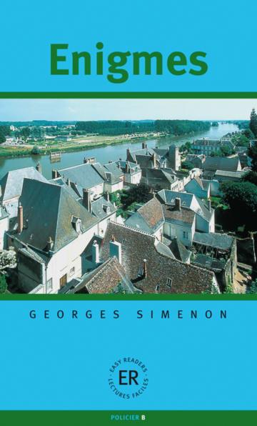 Cover Enigmes 978-3-12-599332-7 Georges Simenon Französisch
