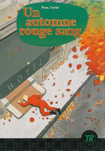 Cover Un automne rouge sang 978-3-12-599826-1 Paul Thiès Französisch