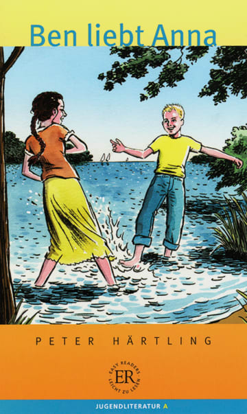 Cover Ben liebt Anna - Easy Readers 978-3-12-675621-1 Peter Härtling Deutsch als Fremdsprache (DaF)