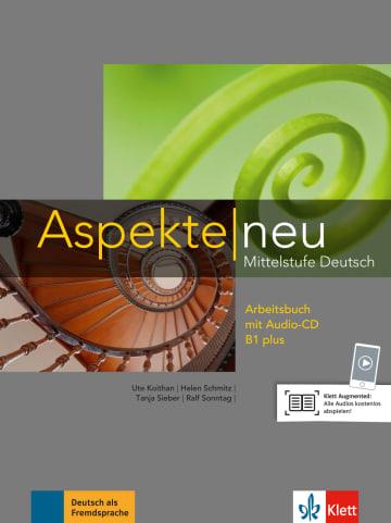 Cover Aspekte neu B1 plus 978-3-12-605017-3 Deutsch als Fremdsprache (DaF)