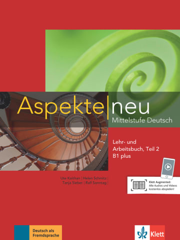 Cover Aspekte neu B1 plus 978-3-12-605019-7 Deutsch als Fremdsprache (DaF)