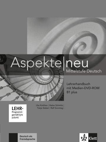 Cover Aspekte neu B1 plus 978-3-12-605021-0 Deutsch als Fremdsprache (DaF)