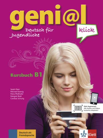 Cover geni@l klick B1 978-3-12-605069-2 Deutsch als Fremdsprache (DaF),Deutsch als Zweitsprache (DaZ)