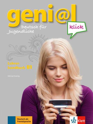 Cover geni@l klick B1 978-3-12-605072-2 Deutsch als Fremdsprache (DaF),Deutsch als Zweitsprache (DaZ)