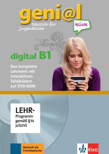 Cover geni@l klick digital B1 978-3-12-605073-9 Deutsch als Fremdsprache (DaF),Deutsch als Zweitsprache (DaZ)