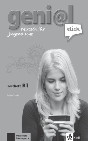 Cover geni@l klick B1 978-3-12-605074-6 Deutsch als Fremdsprache (DaF),Deutsch als Zweitsprache (DaZ)