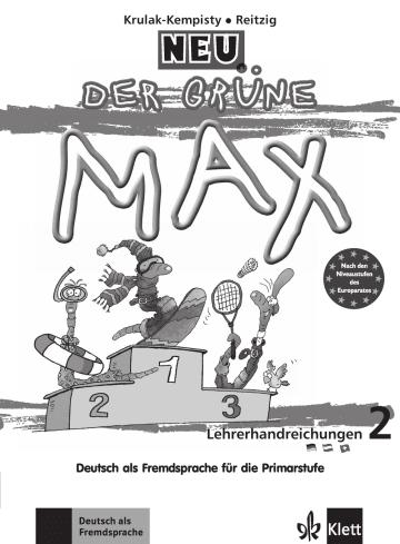 Cover Der grüne Max 2 Neu 978-3-12-605077-7 Deutsch als Fremdsprache (DaF)