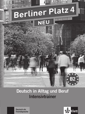 Cover Berliner Platz 4 NEU 978-3-12-605111-8 Deutsch als Fremdsprache (DaF)