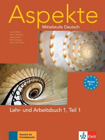 Cover Aspekte 1 (B1+) 978-3-12-606007-3 Deutsch als Fremdsprache (DaF)