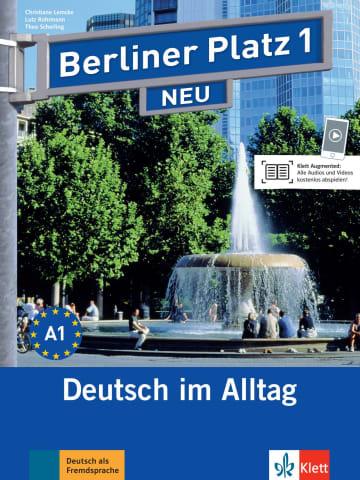 Cover Berliner Platz 1 NEU 978-3-12-606025-7 Deutsch als Fremdsprache (DaF)