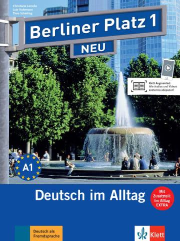 Cover Berliner Platz 1 NEU 978-3-12-606026-4 Deutsch als Fremdsprache (DaF)