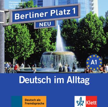 Cover Berliner Platz 1 NEU 978-3-12-606027-1 Deutsch als Fremdsprache (DaF)
