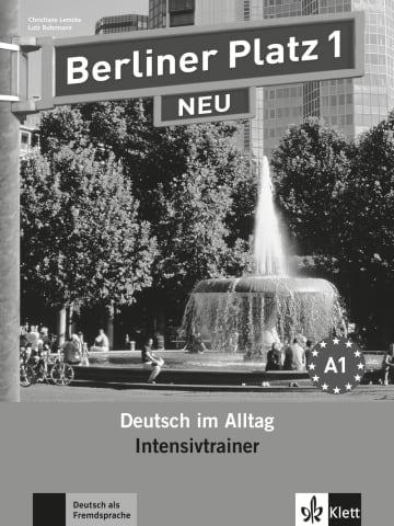 Cover Berliner Platz 1 NEU 978-3-12-606029-5 Deutsch als Fremdsprache (DaF)