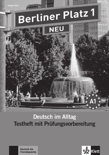 Cover Berliner Platz 1 NEU 978-3-12-606031-8 Deutsch als Fremdsprache (DaF)