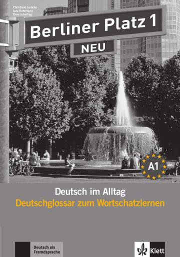 Cover Berliner Platz 1 NEU 978-3-12-606038-7 Deutsch als Fremdsprache (DaF)