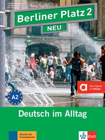 Cover Berliner Platz 2 NEU 978-3-12-606039-4 Deutsch als Fremdsprache (DaF)