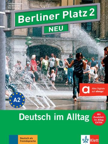 Cover Berliner Platz 2 NEU 978-3-12-606040-0 Deutsch als Fremdsprache (DaF)