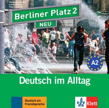 Cover Berliner Platz 2 NEU 978-3-12-606041-7 Deutsch als Fremdsprache (DaF)
