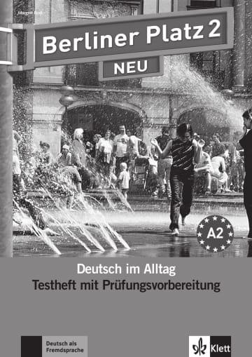 Cover Berliner Platz 2 NEU 978-3-12-606045-5 Deutsch als Fremdsprache (DaF)