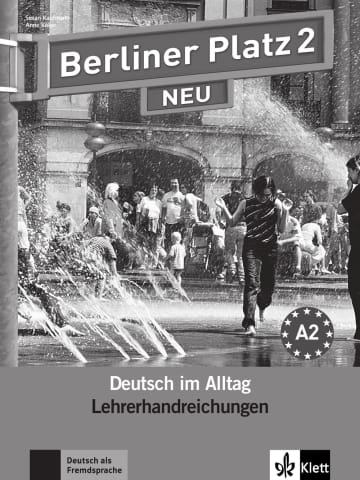 Cover Berliner Platz 2 NEU 978-3-12-606046-2 Deutsch als Fremdsprache (DaF)